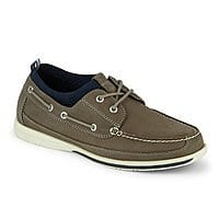 Dockers Men's Homer Smart Series Leather Boat Shoe with Neverwet for $30.39 AC + FS