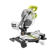 Ryobi 10 in. Compound Miter Saw with Laser Line (Refurbished):  $75.99 AC + FS