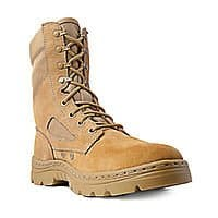 "Ridge Footwear 8"" Tactical Police Side Zip Boots Multiple Styles Available from $44.95 + Free Shipping"