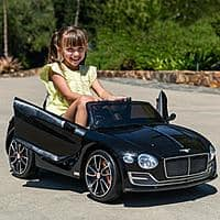 BCP 12V Kids Officially Licensed Bentley Ride-On Car w/ Parent Remote (BLACK Only) $99.99 + FS