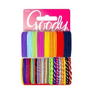Goody Girls Ouchless Hair Elastics Perfect for Girls with Fine Hair, Curly Hair or Sensitive Scalps (60 Pieces) for $2.73 AC w/ S&S + FS