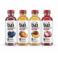 Bai Flavored Water, Rainforest Variety Pack, Antioxidant Infused Drinks, 18 Oz, 12 Pack $12 After Coupon Amazon Prime