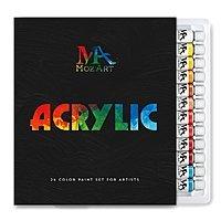 MozArt acrylic paint set, 24 tubes, 12 mL/tube - $3.50 - Amazon 