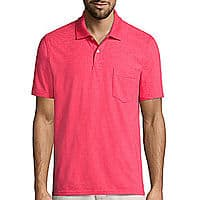 St. John's Bay® Short-Sleeve Pocket Polo Shirt $  9.99 at jcpenney