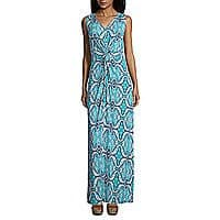 St. John`s Bay Sleeveless Twist Front Maxi Dress-Petites $24.99 at jcpenney