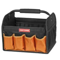 Craftsman 12 in. Tool Tote-Orange member price $6.68 (store pick-up only) @sears