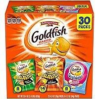 Amazon.com - Pepperidge Farm Goldfish Variety Pack (Box of 30 bags) (Multiple Varieties) - As low as $5.48 with Free Shipping w/S&S