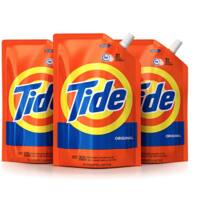 Amazon.com - 3x Tide Liquid Laundry Detergent Smart Pouch (Original Scent, High Efficiency) (48 oz.) - As low as $13.29 with Free Shipping w/S&S