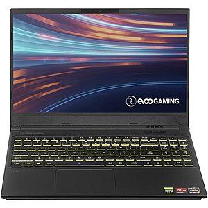 EVOO Gaming: 15.6'' FHD 120 Hz, Ryzen 7 4800H, 16GB DDR4, 512GB PCIe SSD, RTX 2060, RGB Keyboard, Win10H @ $995