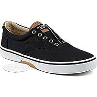 Men's Sperry Halyard CVO Laceless Sneakers - Black Saturated (various sizes) $15.75 Free Ship