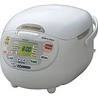 Zojirushi NS-ZCC18 Neuro Fuzzy Rice Cooker (10 cup, Made in Japan) - $124.49