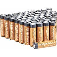 AmazonBasics AA 1.5 Volt Performance Alkaline Batteries - Pack of 48: Health & Personal Care $6.76