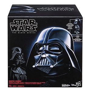 Star Wars Black Series Helmets: Darth Vader and First Order Storm Trooper $99 each - Pre Order $99.99