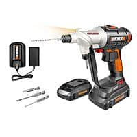 WX176L WORX 20V Switchdriver Cordless Drill & Driver - Manufacturer refurbished $  49.99