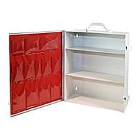 Metal 3 Shelf First Aid Cabinet with Pockets, Medique Products 712MTM - $  33.35 @ Amazon
