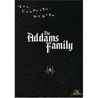 The Addams Family - The Complete Series on DVD for $19.99 with Shipping on Amazon or Free Store Pickup at Best buy