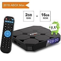 New Version Android 7.1 TV BOX 2GB RAM 16GB ROM Amlogic Quad Core A53 Processor 64 Bits at $  48.99 AC+FS With Prime