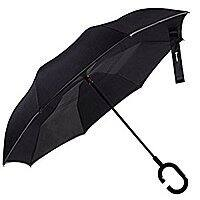 Glamore Inverted Double Layer Windproof UV Protection Reverse folding Umbrella for $  11.49