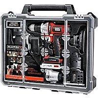 Black & Decker BDCDMT1206KITC Matrix 6 Tool Combo Kit with Case for $  148