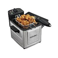 Proctor Silex 1.5 L Professional-Style Deep Fryer (Stainless Steel) $  15 + free store pickup at Walmart