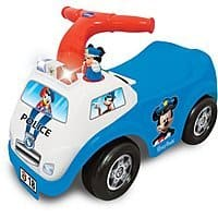 Kiddieland Disney Mickey Mouse Police Drive Along Ride-On $15 + free store pickup at Walmart