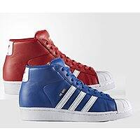 adidas Big Kids Pro Model Leather Shoes (sizes 3.5-5.5) 2 for $25.50 ($12.25 each) + free shipping