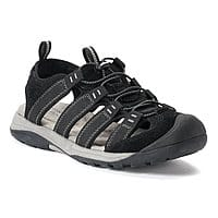 Kohls Cardholders: Croft & Barrow Legato Men's Ortholite Fisherman Sandals or Piano Men's Sandals $12.59 + free shipping onb $75+