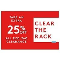 """***Upcoming 3/7/19*** Nordstrom Rack """"Clear the Rack"""" Sale: Select Clearance Items Extra 25% Off + Free S&H on $100+"""