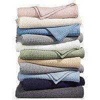 Lauren Ralph Lauren Classic 100% Cotton Blankets: King $24, Queen $20, Twin $18 + Free store pickup at Macys
