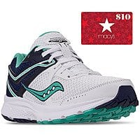 Saucony Women's Cohesion 11 Running Sneakers + $10 Macys eGC $25 (after Slickdeals Rebate) + Free Store Pickup at Macys