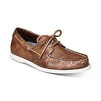 Men's Weatherproof Vintage Benny Boat Shoes $18, Alfani Men's Dress Shoes (various) $18 & More + Free Pickup at Macys