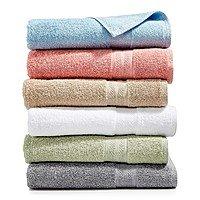 Sunham Soft Spun Cotton Washcloth $1, Hand Towel $2, Bath Towel $3 + Free Shipping