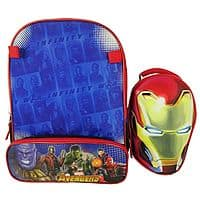 Infinity War Iron Man Backpack & Lunchbox Set) $4.19 + free shipping