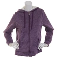 Starting Point Women's Marled Sherpa Full Zip Hoodie (4 colors) $10 + free shipping