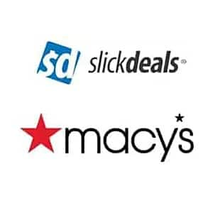 Slickdeals Cashback via Macy's (PC Req'd): $10 Cashback on order over $25 + Free S&H Orders $25+ or free pickup on qualifying items