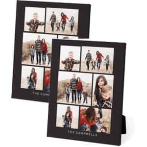 "New Shutterfly Android App Customers: 2-Count 5""x7"" Custom Easel Back Canvas Free + Free Shipping"