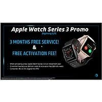 Apple Watch Series 3 Free Activation and 3 Months of Free Service on AT&T $  399.96
