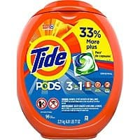 96-Count Tide Pods Laundry Detergent Pacs (Various) $12.15 w/ S&S + Free S&H