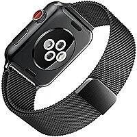 Amazon Lightning Deal: Apple Watch Band 42mm Milanese Mesh Loop Black $  8.89 after coupon