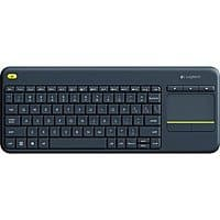 Logitech K400 Plus Touchpad Wireless Keyboard $  17.99