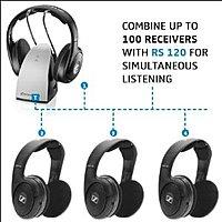 Sennheiser RS120 On-Ear Wireless RF Headphones with Charging Dock -- $  63 or less @ Rakuten (from Focus Camera)