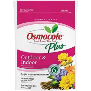 Amazon.com: Osmocote Smart-Release Plant Food Plus Outdoor & Indoor, 8 lbs: Garden & Outdoor $9.53