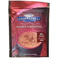 Ghirardelli Double Chocolate Premium Hot Cocoa, 10.5 oz $3.78