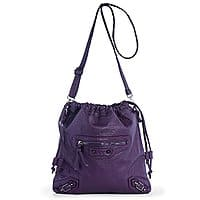 Women's Casual Synthetic Washed Leather Crossbody Drawstring Bag for $9.83 + FS w/ Prime