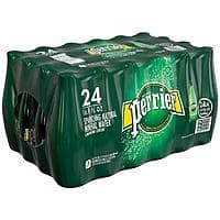 Perrier Carbonated Mineral Water, 16.9 fl oz. Plastic Bottles (24 Count) - $13.49 @ Amazon