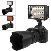 NEEWER CN-160 LED Dimmable Ultra High Power Panel Digital Camera/Camcorder Video Light - AC $20.99