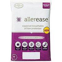 $  6.99 - Allerease Ultimate Protection & Comfort Temperature Balancing Hypoallergenic Pillow Protector - Standard/Queen