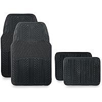 Pilot Automotive All Season 4 pc. Rubber Floor Mat Set - Black $  9.99 + ship @sears.com
