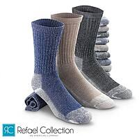 Certified Merino Wool Thermal Socks By RC Collection: Men's or Women's 4-Pairs $  12 ($  3 each), Kids' 4-Pairs $  9 ($  2.25 each)