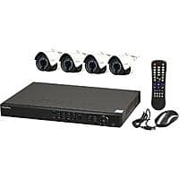 8-Channel LaView IP Surveillance System NVR + 4x 1080p Cameras $  300 after $  30 Rebate + Free Shipping